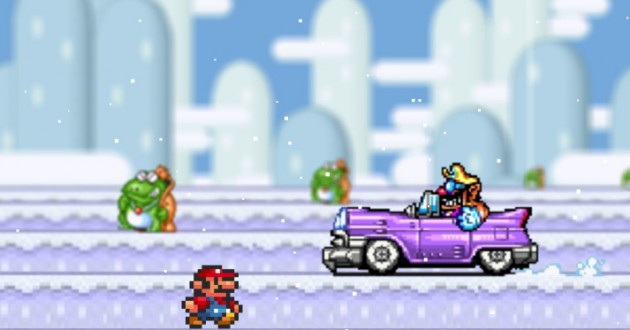 Mario Snow 2 Screenshot