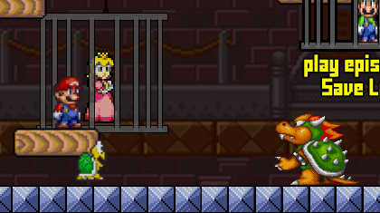 Super Mario – Save Peach Screenshot