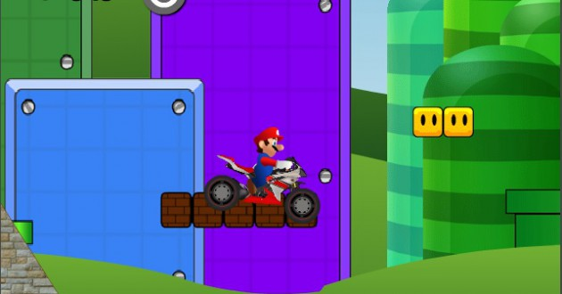 Mario Bike Course Screenshot